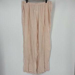 Eileen Fisher Pants Check Seersucker